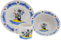 Купить Союзмультфильм Набор детской посуды Ну погоди 3 предмета, Детская посуда и приборы