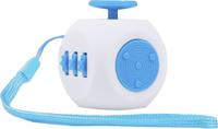 Купить Fidget Cube 3.0 Air Игрушка-антистресс цвет белый голубой, Развлекательные игрушки