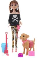 Купить Veld-Co Игровой набор с куклой Pet Show цвет одежды черный леопардовый, Куклы и аксессуары