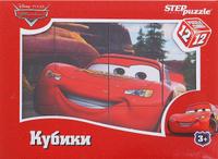 Купить Disney Кубики Тачки 12 шт, Развивающие игрушки
