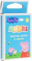 Купить Peppa Pig Цветные мелки Свинка Пеппа 6 цветов, Мелки и пастель