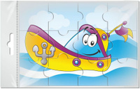 Купить Издательская группа Квадра Пазл для малышей Кораблик, Издательская группа Квадра , Обучение и развитие