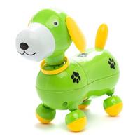 Купить Mommy Love Электронная развивающая игрушка Веселый щенок цвет зеленый, Dream Makers