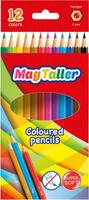 Купить MagTaller Набор цветных карандашей Kuvio 12 цветов, Карандаши