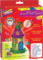 Купить Креатто Набор для шитья Волшебный домик гномика, Игрушки своими руками