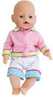 Купить S+S Toys Пупс цвет одежды розовый белый салатовый, Куклы и аксессуары