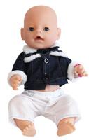 Купить S+S Toys Пупс цвет одежды белый темно-синий, Куклы и аксессуары