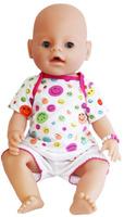 Купить S+S Toys Пупс цвет одежды белый розовый, Куклы и аксессуары