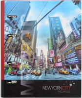 Купить Action! Тетрадь Нью-Йорк 120 листов в клетку, Тетради