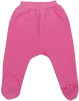Купить Ползунки для девочки Cherubino, цвет: розовый. CWN 7384. Размер 80, Одежда для новорожденных