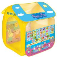 Купить Peppa Pig Палатка для игр Учим азбуку с Пеппой, Росмэн