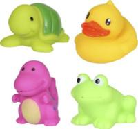 Купить Yako Набор игрушек для ванной Акварики 4 шт Y20059132, Первые игрушки