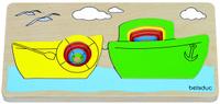 Купить Beleduc Пазл для малышей Кораблик, Обучение и развитие