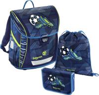 Купить Hama Ранец школьный BaggyMax Fabby Soccer Goal с наполнением 2 предмета, Ранцы и рюкзаки