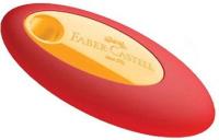 Купить Faber-Castell Ластик цвет желтый красный, Чертежные принадлежности