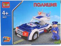 Купить Город мастеров Конструктор Патрульный, Shantou City Daxiang Plastic Toy Products Co., Ltd, Конструкторы