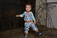 Купить Кофта для мальчика Lucky Child, цвет: голубой, синий. 32-20. Размер 62/68, Одежда для новорожденных