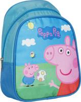 Купить Peppa Pig Рюкзак дошкольный Свинка Пеппа цвет голубой, Росмэн, Ранцы и рюкзаки