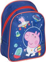 Купить Peppa Pig Рюкзак дошкольный Свинка Пеппа цвет синий оранжевый 32038, Росмэн, Ранцы и рюкзаки