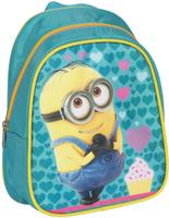 Купить Universal Миньоны Рюкзак дошкольный цвет бирюзовый, Росмэн, Ранцы и рюкзаки