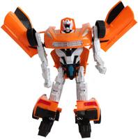 Купить Shantou Gepai Трансформер Робот-машина цвет оранжевый черный белый 2116AB, Фигурки