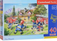 Купить Castorland Пазл Пожарные 40 элементов, Castorland Puzzle