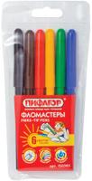 Купить Пифагор Набор фломастеров 6 цветов, Фломастеры