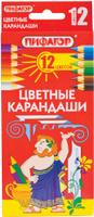 Купить Пифагор Набор цветных карандашей 12 цветов, Карандаши