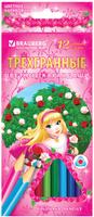 Купить Brauberg Набор цветных карандашей Rose Angel 12 цветов, Карандаши