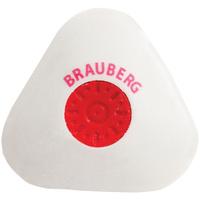 Купить Brauberg Ластик Energy треугольный цвет белый, Чертежные принадлежности