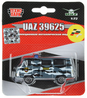 Купить ТехноПарк Автомобиль UAZ 39625 Омон, Машинки