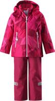 Купить Комплект верхней одежды детский Reima Reimatec Kiddo Grane: куртка, брюки, цвет: розовый. 5231133566. Размер 92, Одежда для девочек