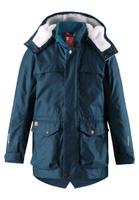 Купить Куртка детская Reima Pentti, цвет: темно-синий. 5312937902. Размер 122, Одежда для девочек