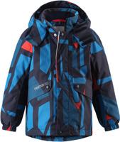 Купить Куртка детская Reima Reimatec Elo, цвет: темно-синий, синий. 5215156981. Размер 92, Одежда для девочек
