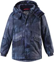 Купить Куртка детская Reima Reimatec Elo, цвет: темно-синий. 5215156982. Размер 92, Одежда для девочек