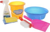 Купить ABtoys Игровой набор для уборки 7 предметов, Сюжетно-ролевые игрушки