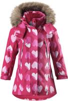 Купить Куртка для девочки Reima Reimatec Muhvi, цвет: розовый, белый. 5215163561. Размер 98, Одежда для девочек
