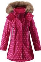 Купить Куртка для девочки Reima Reimatec Muhvi, цвет: розовый. 5215163563. Размер 92, Одежда для девочек