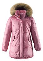 Купить Куртка для девочки Reima Sula, цвет: светло-розовый. 5312984320. Размер 116, Одежда для девочек
