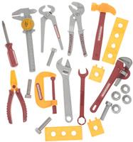 Купить ABtoys Набор игрушечных инструментов 22 предмета, Сюжетно-ролевые игрушки