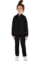 Купить Спортивный костюм для девочки Boom!, цвет: черный. 70806_BLG_вар.2. Размер 98/104, 3-4 года, Одежда для девочек