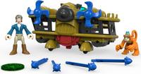 Купить Imaginext Игровой набор Расхитители гробниц Bi-Plane Bomber, Mattel, Игровые наборы
