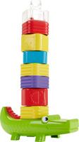 Купить Fisher-Price Пирамидка Веселый крокодил, Развивающие игрушки