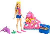 Купить Barbie Морские приключения Игровой набор с куклой, Куклы и аксессуары