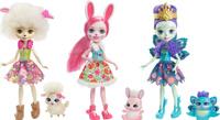 Купить Enchantimals Игровой набор с куклой Три куклы с любимыми зверюшками, Куклы и аксессуары
