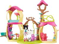 Купить Enchantimals Игровой набор Лесной замок с куклой, Mattel, Куклы и аксессуары