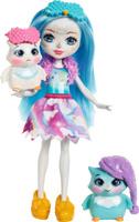 Купить Enchantimals Игровой набор с куклой Sleepover Night Owls, Куклы и аксессуары