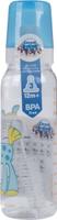 Купить Canpol Babies Бутылочка Лошадка с силиконовой соской от 12 месяцев цвет голубой 250 мл, Бутылочки