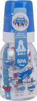 Купить Canpol Babies Бутылочка Machines с силиконовой соской от 3 месяцев цвет синий 120 мл, Бутылочки