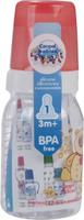 Купить Canpol Babies Бутылочка Мишка с силиконовой соской от 3 месяцев 120 мл, Бутылочки